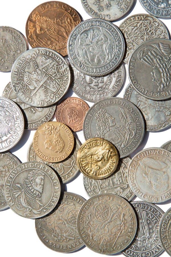Monedas medievales fotos de archivo libres de regalías