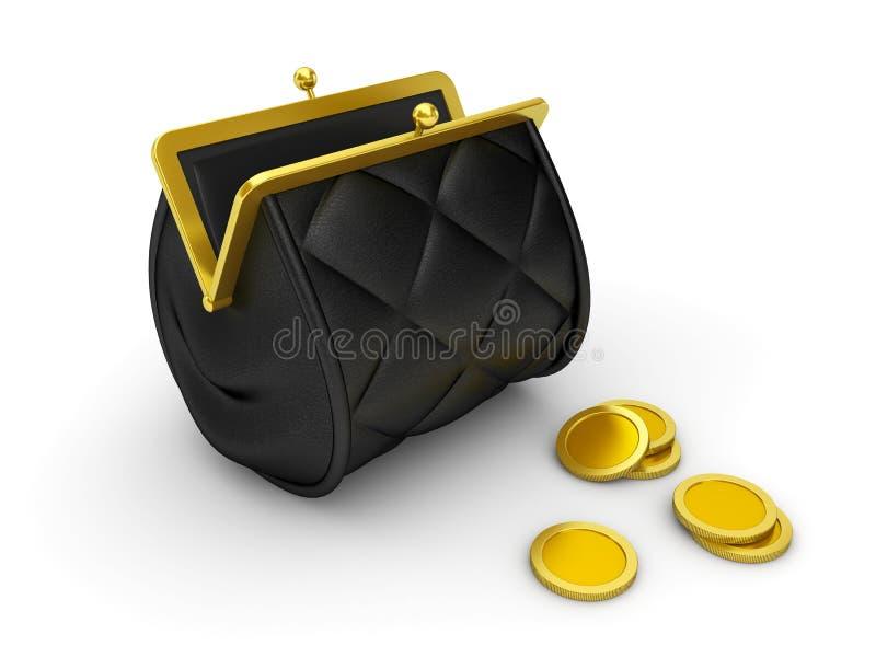 Monedero stock de ilustración