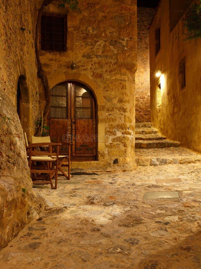 Monemvasia in Grecia immagini stock