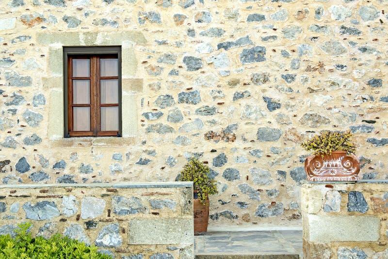 Monemvasia Grekland, arkitektonisk detalj arkivfoto