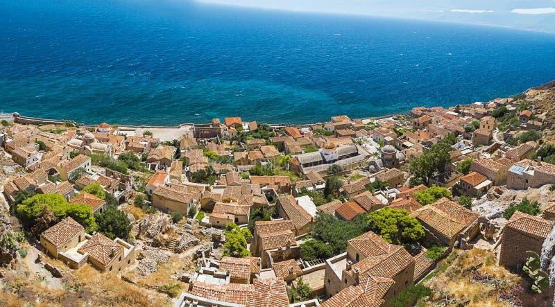 Monemvasia, Griechenland stockfoto
