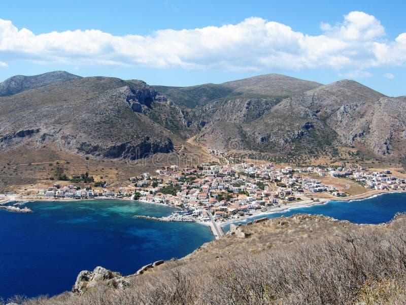 Monemvasia, Griekenland royalty-vrije stock afbeelding