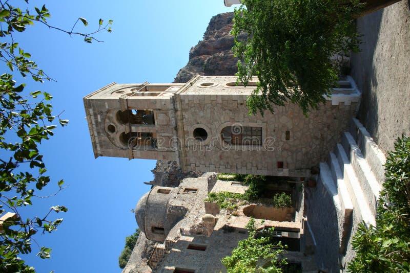 Monemvassia - de Peloponnesus - Griekenland royalty-vrije stock foto