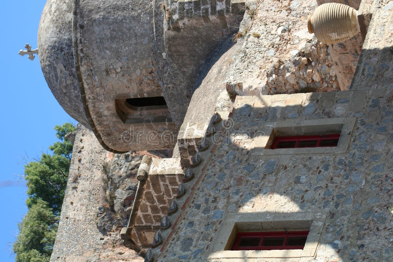 Monemvassia - de Peloponnesus - Griekenland royalty-vrije stock foto's