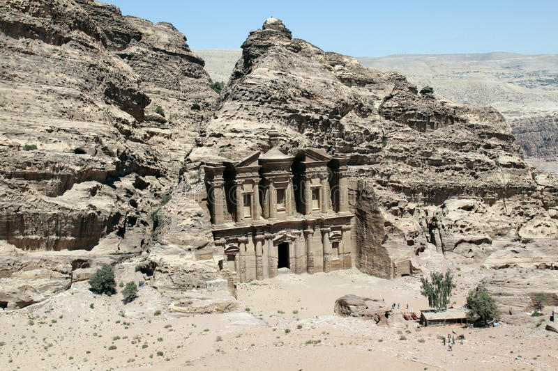 Download Monestary In Petra. Royalty Free Stock Images - Image: 19778549