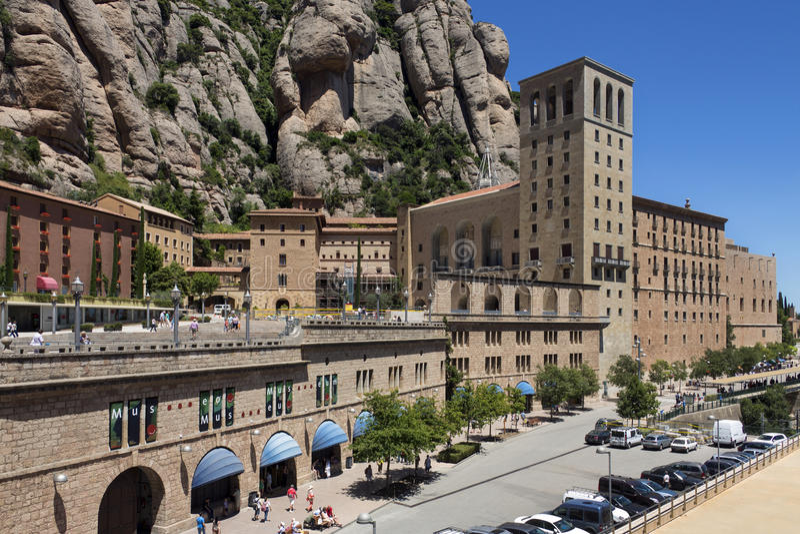 Monestir de Montserrat Hiszpania - Catalonia - zdjęcia stock