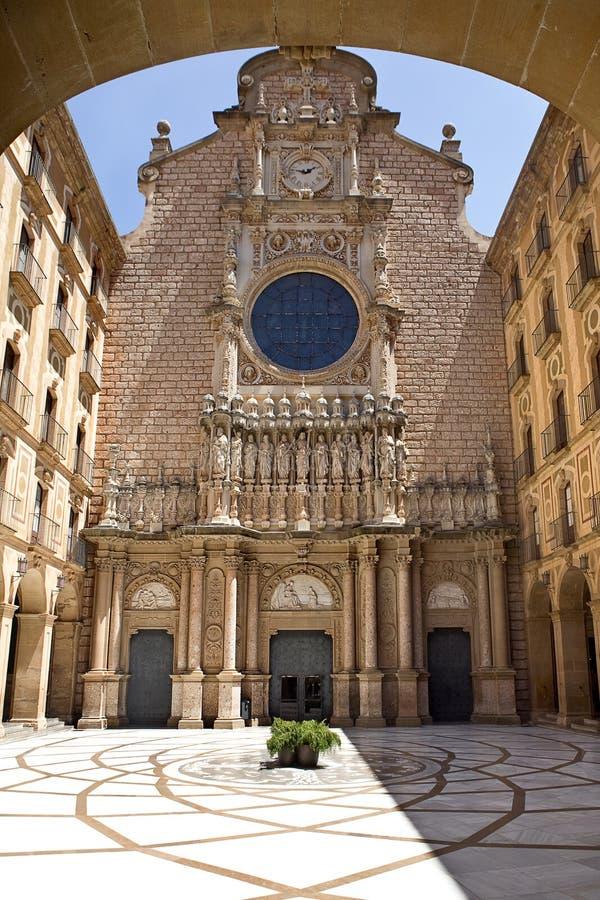 monestir Montserrat obraz royalty free