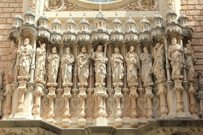 Monestir Santa Maria de Montserrat photographie stock libre de droits