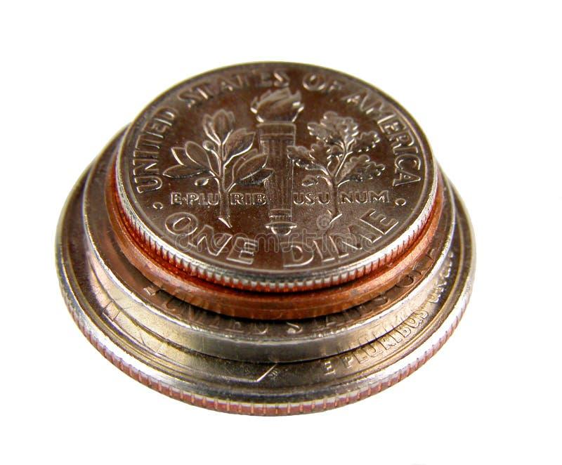 monet amerykańskiego szyszek zdjęcie stock