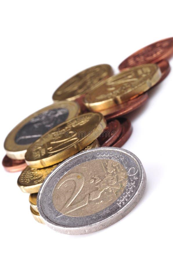 monet euro zdjęcie royalty free