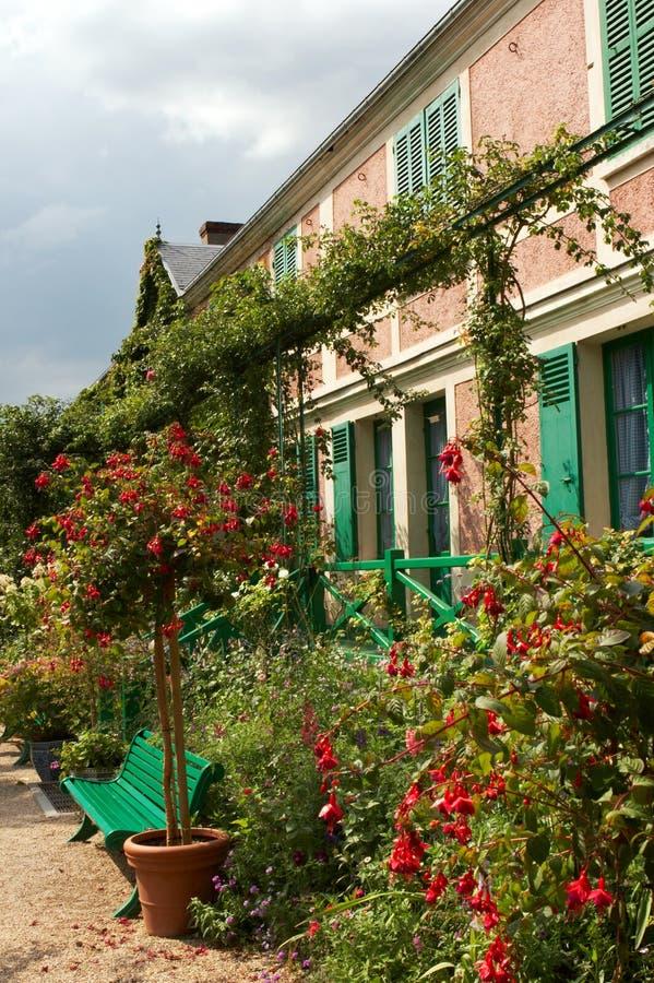 Monet's house stock photography
