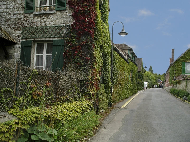 Download Monet's Village, Giverny, France Royalty Free Stock Photography - Image: 14461587