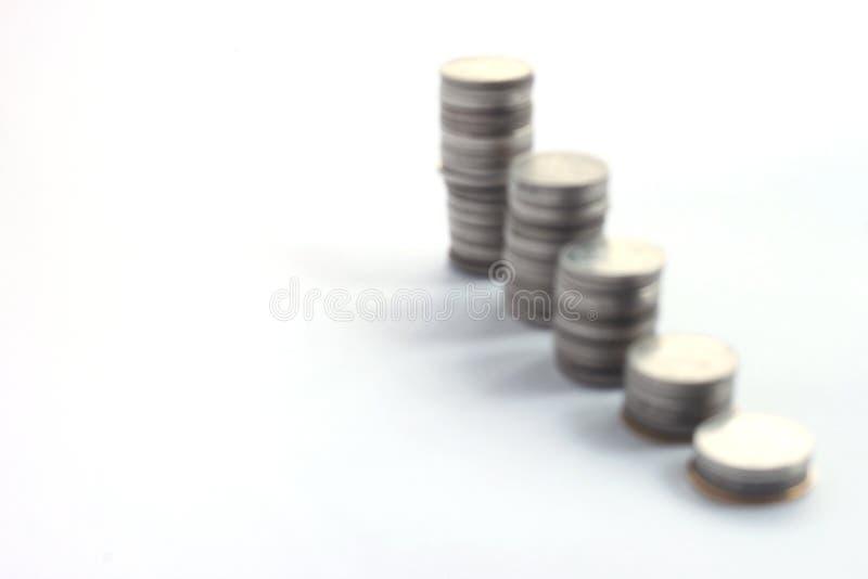 Monet sterty, plama zdjęcie stock
