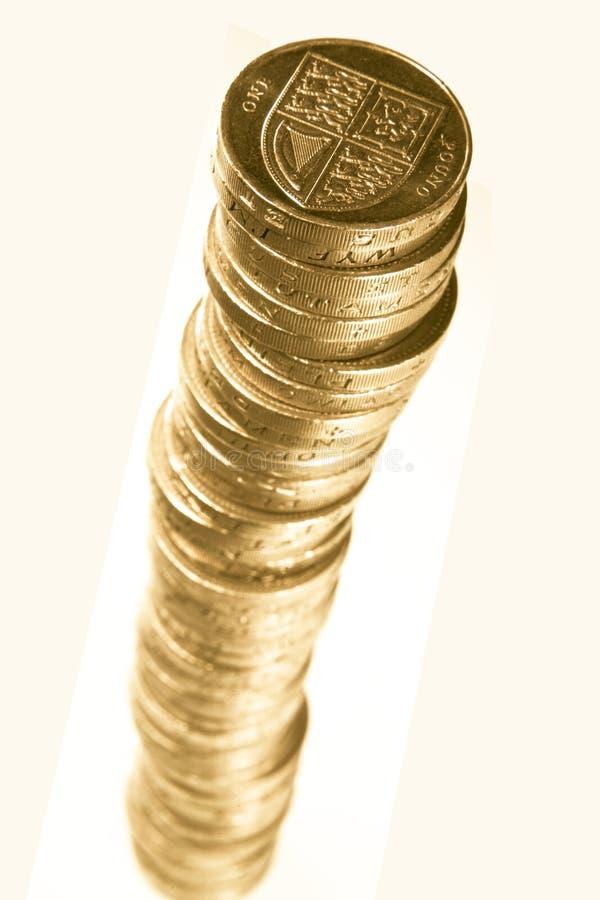moneta brytyjski funt obrazy royalty free