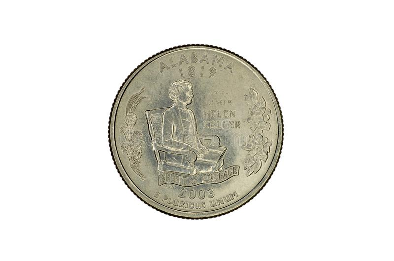 Moneta commemorativa degli Stati Uniti fotografie stock libere da diritti