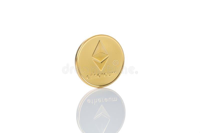 moneta del classico di ethereum fotografie stock