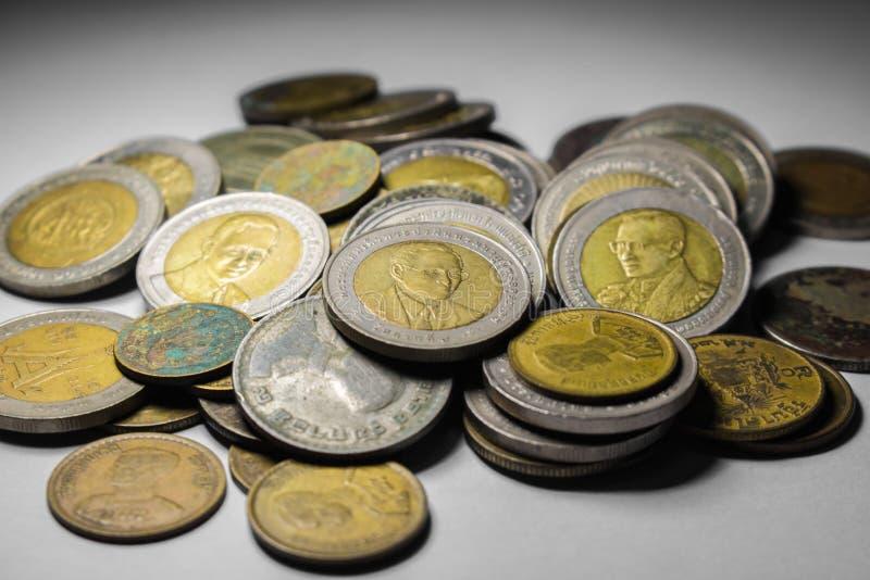 Moneta della Tailandia immagine stock