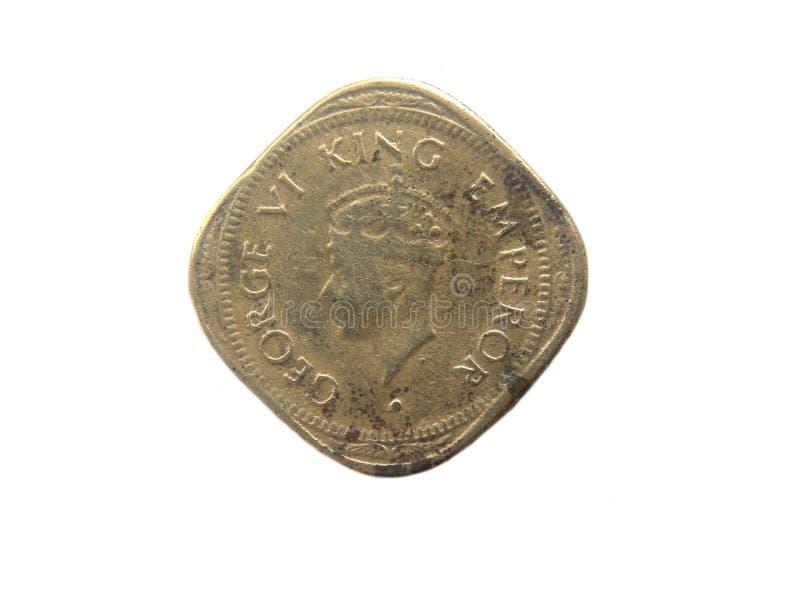 Moneta di due Annas immagini stock