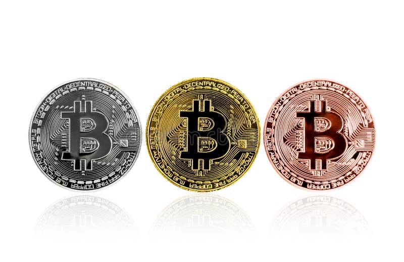 Moneta fisica del pezzo Valuta di Digital immagine stock