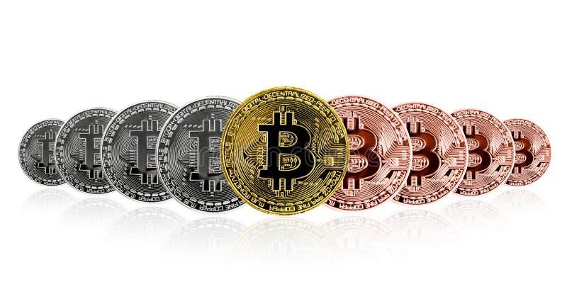 Moneta fisica del pezzo Valuta di Digital fotografia stock