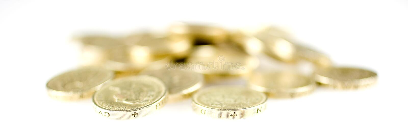 moneta funt obraz royalty free