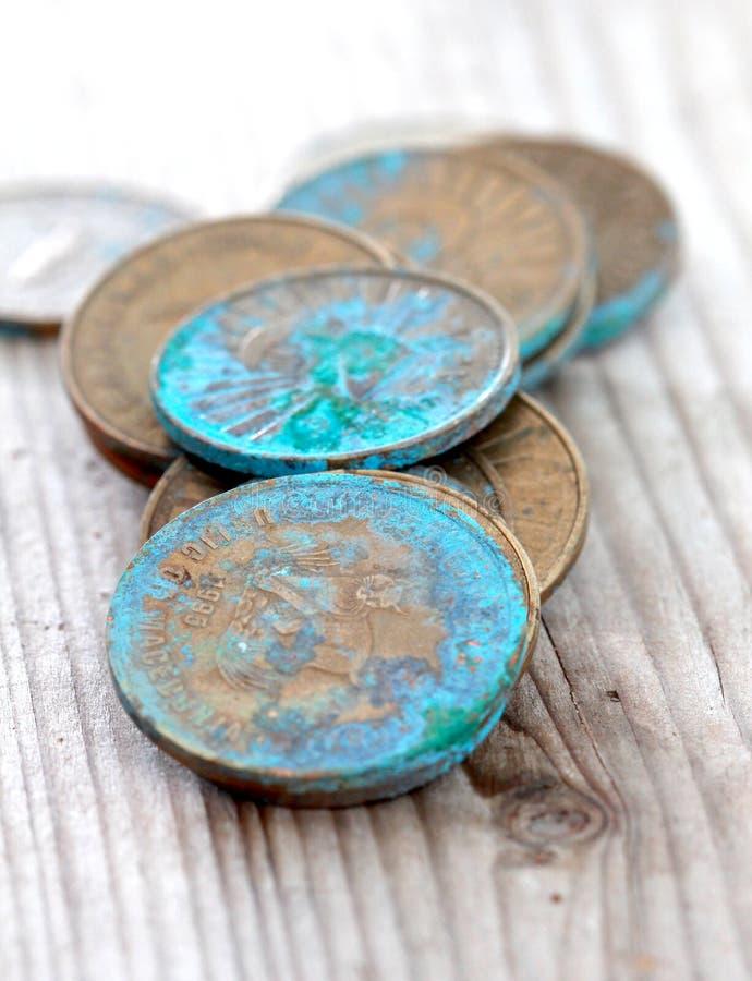 moneta od Macedonia obrazy royalty free