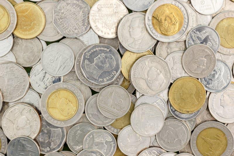 Moneta tailandese di baht immagini stock libere da diritti