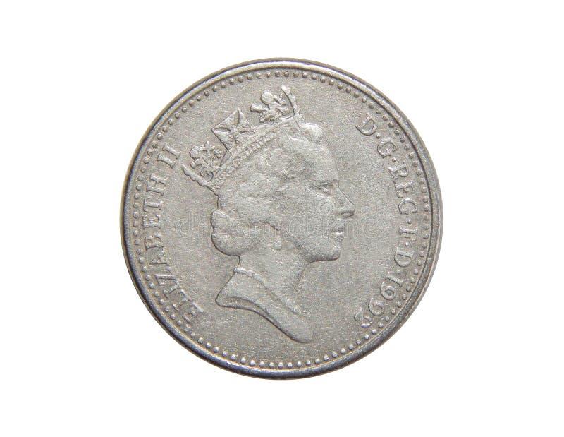Moneta Wielki Brytania 10 pens obraz royalty free