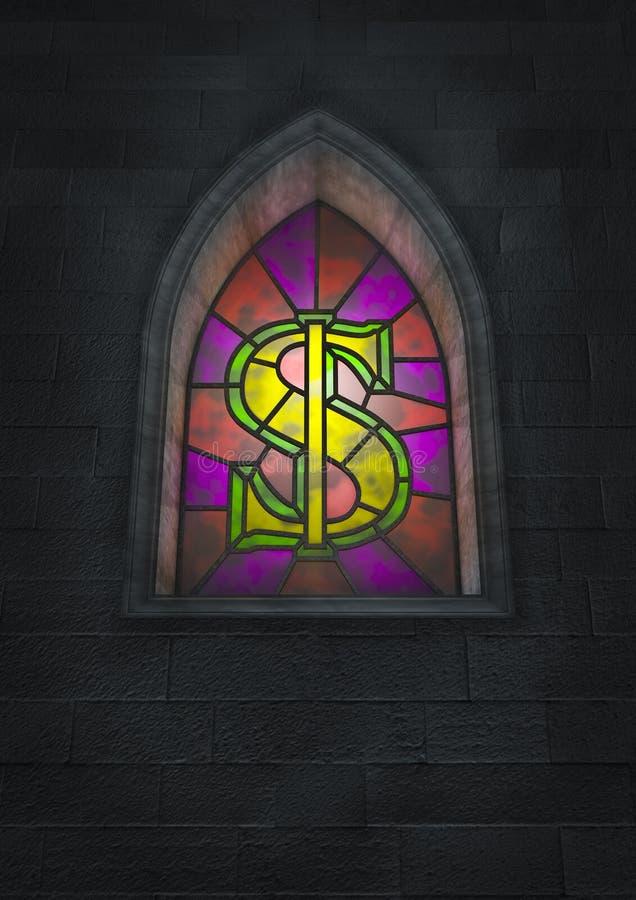 Monetair geloof stock illustratie