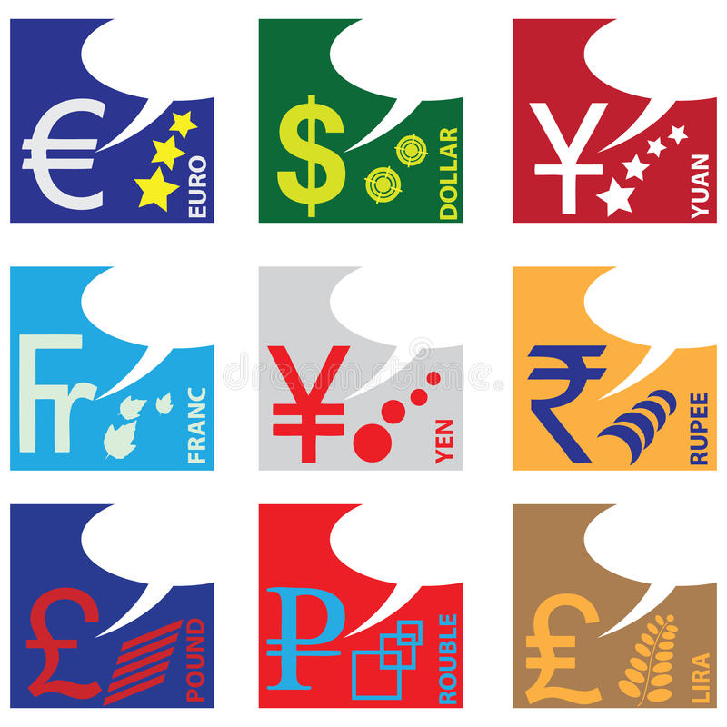 Download Monetary Symbols Stock Image - Image: 26136871