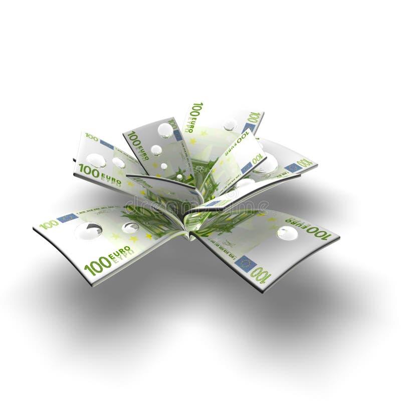 Download Monetary tree stock illustration. Image of background - 10125621