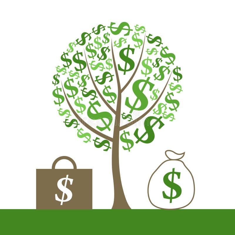 Monetary Tree Stock Photography