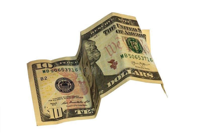 Monete russe sulla millesima fattura cinque immagine stock libera da diritti