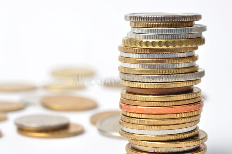 Download Monety obraz stock. Obraz złożonej z monety, oszczędzania - 13334115