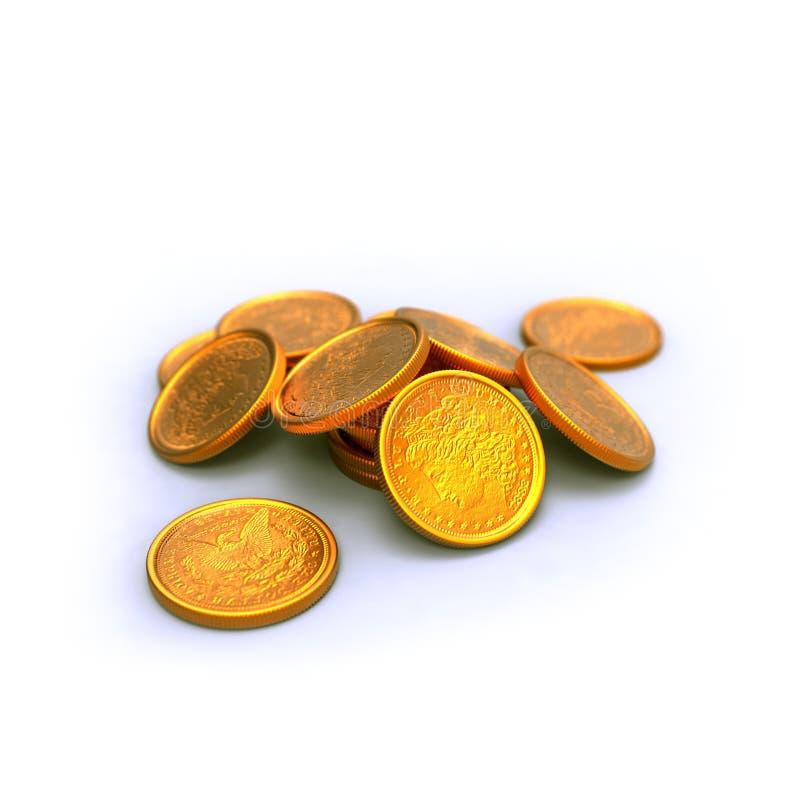 monety ilustracja wektor