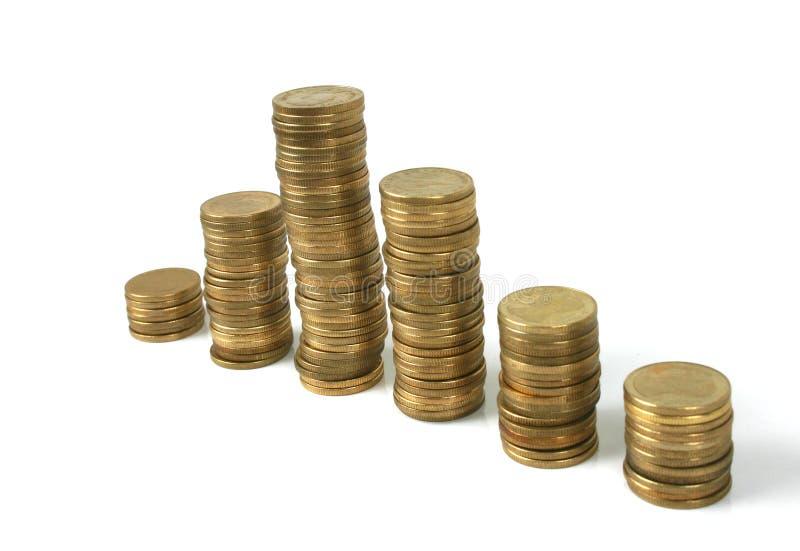 monety. fotografia stock