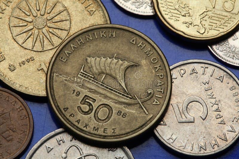 Monety Grecja obrazy stock