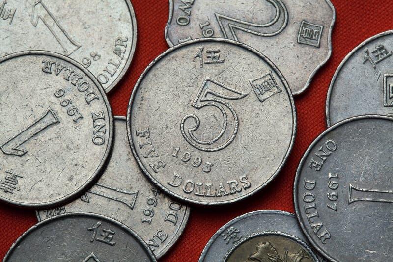 Monety Hong Kong obrazy royalty free
