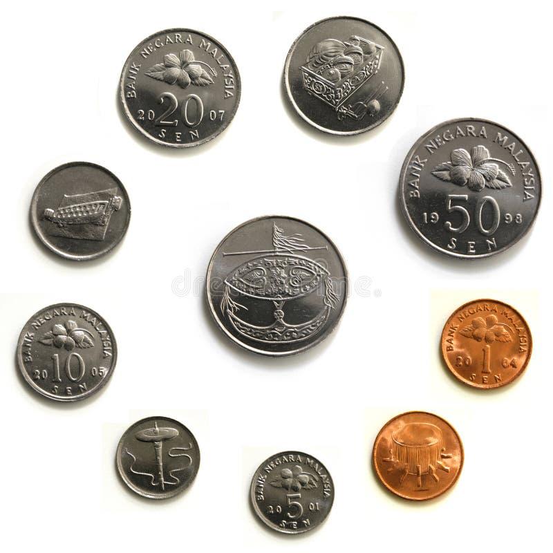 monety Malaysia makro zdjęcie stock