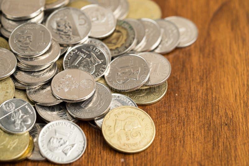Monety Peso filipińskie obrazy royalty free