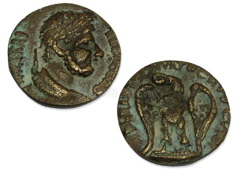 monety rzymskiego imperium. zdjęcia stock