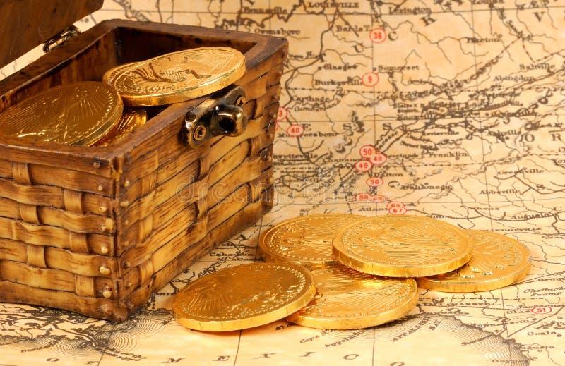 monety złoto obrazy royalty free