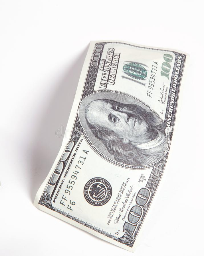 Money, 100 Dollars stock images