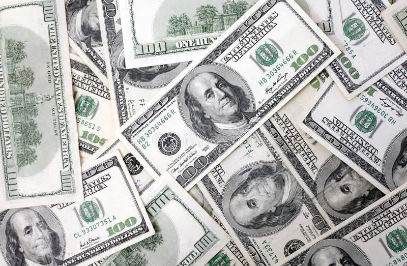 Money. Background with $100 bills