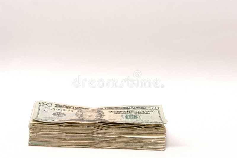 Download Money ( 20 dollars) stock photo. Image of dough, pile, dollars - 169318
