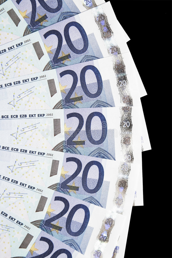 Download Money - 20 Euro Notes Detail Stock Photo - Image: 5144810
