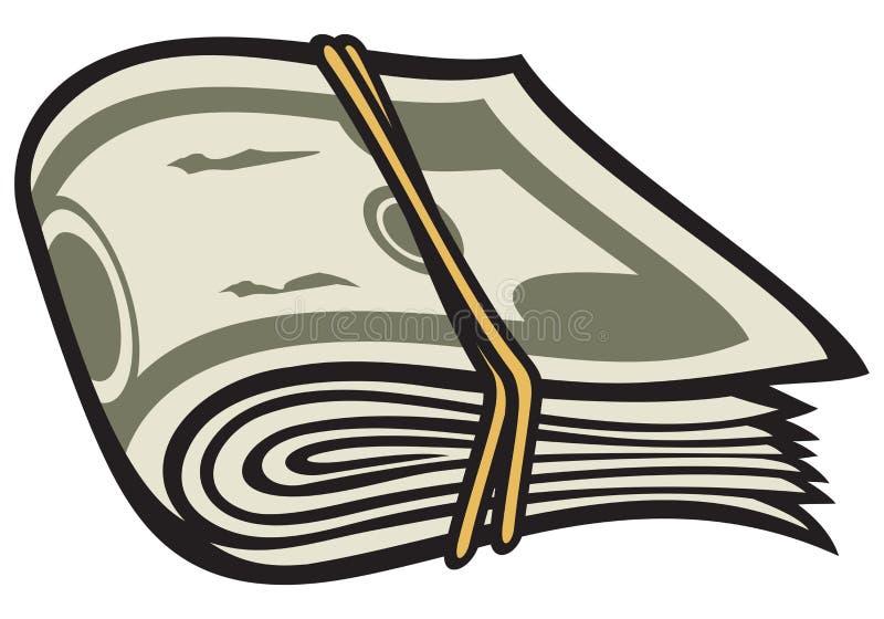 Download Money stock vector. Image of dollar, bankroll, luck, cash - 24158375