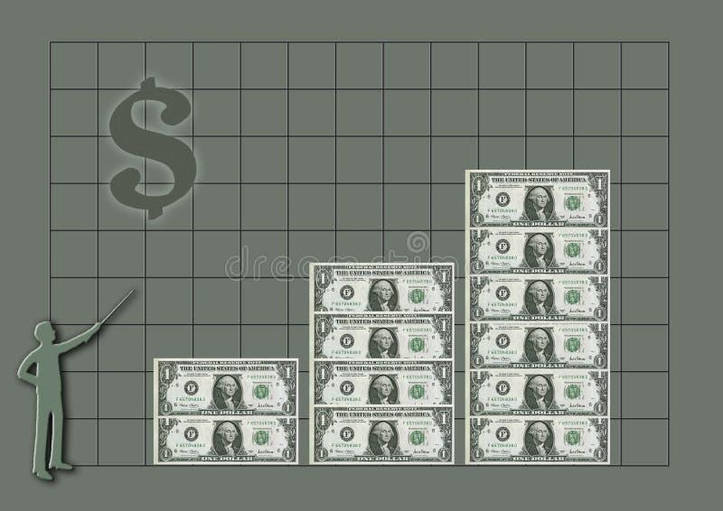 Money royalty free illustration