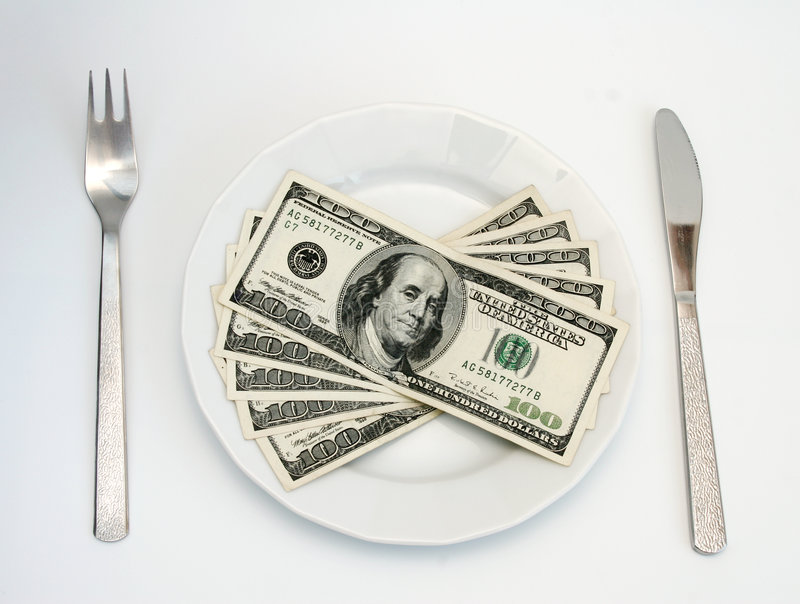 Download Money stock photo. Image of food, number, fork, rich, kniwe - 507306