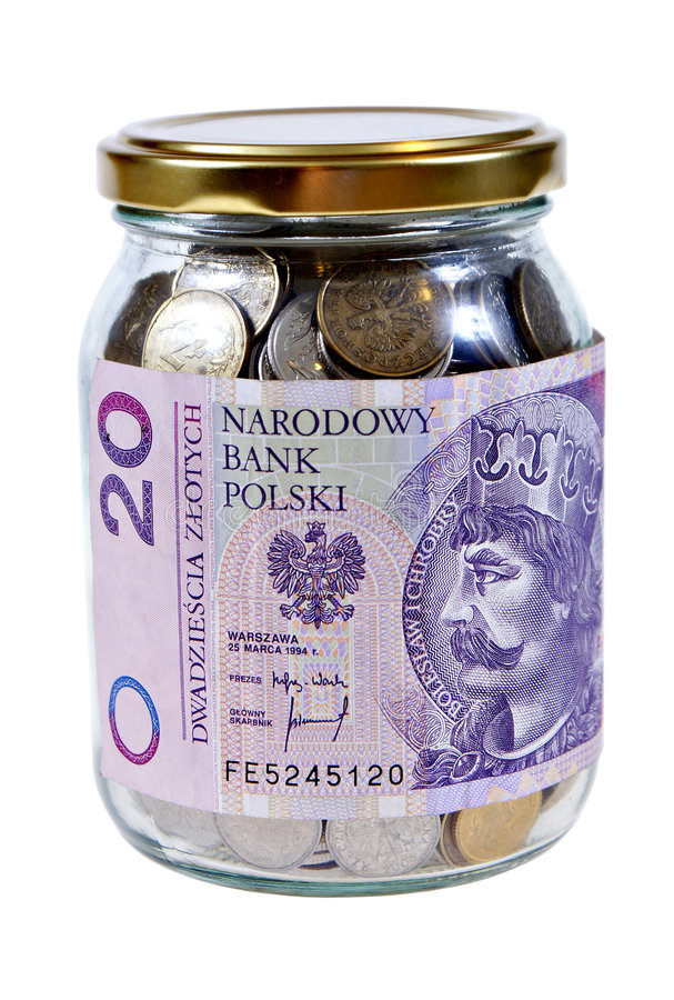 Download Money stock photo. Image of polish, number, coins, note - 5562650